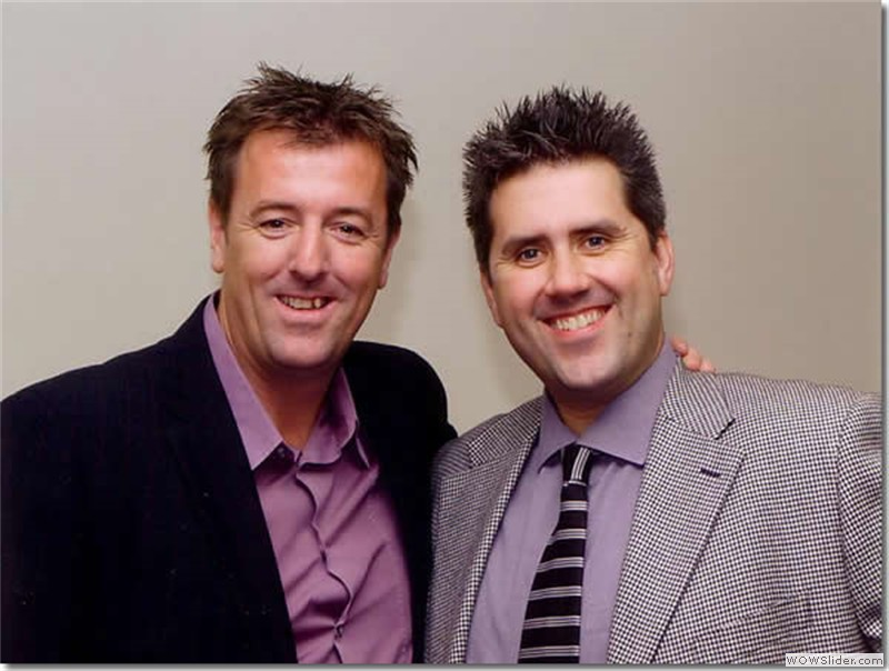 With former Southampton and England star Matt Le Tissier
