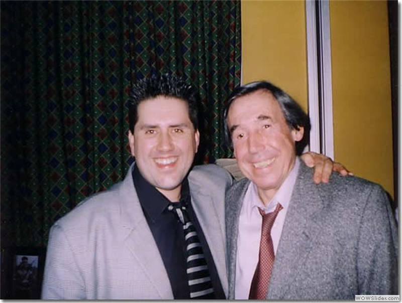With World Cup winner Gordon Banks